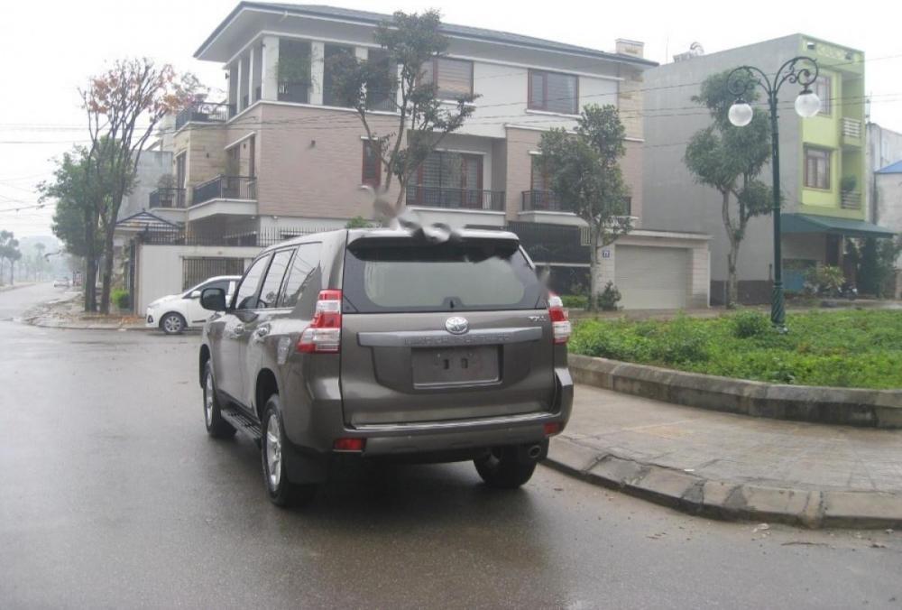 Bán Toyota Prado TXL năm 2015, màu nâu, nhập khẩu Nhật Bản số tự động