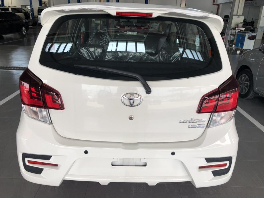 Toyota Wigo 1.2AT , màu trắng, xe nhập GIAO NGAY