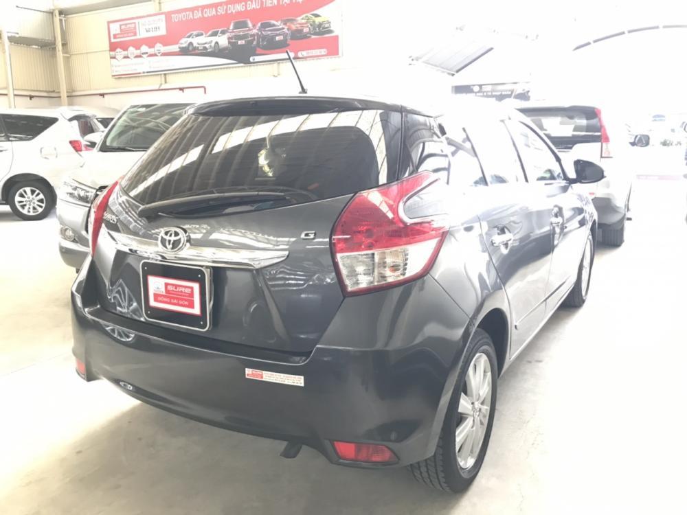 Bán xe Yaris G sản xuất 2015, màu xám