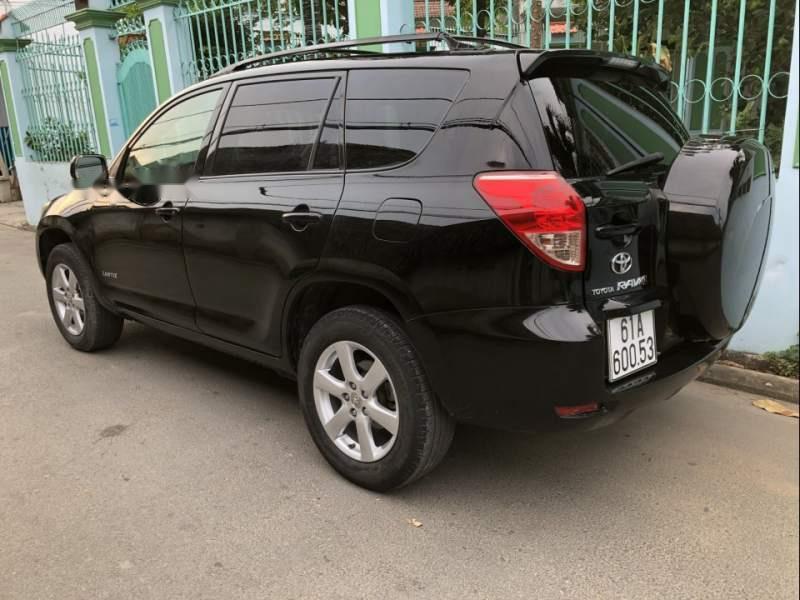 Bán Toyota RAV4 đời 2007, màu đen, xe nhập, số tự động