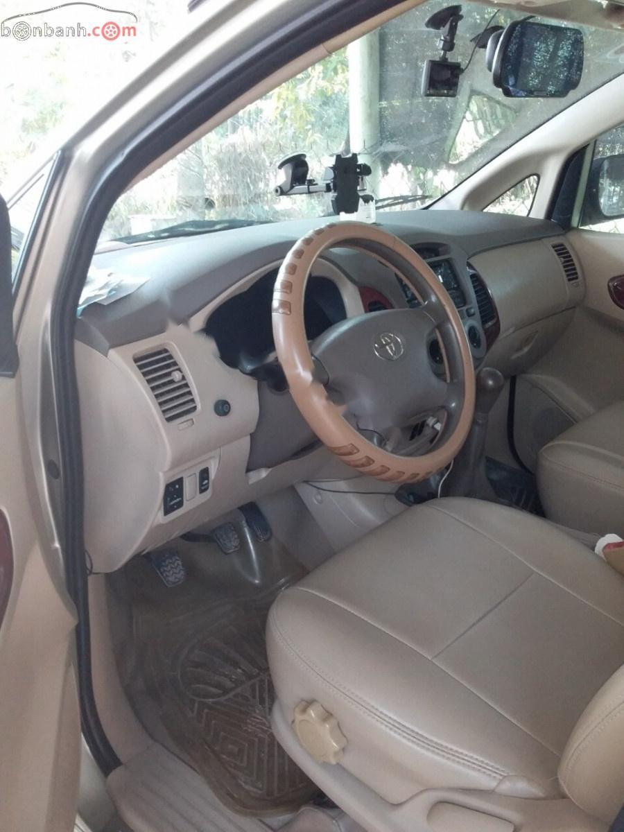 Bán Toyota Innova năm sản xuất 2007, màu bạc