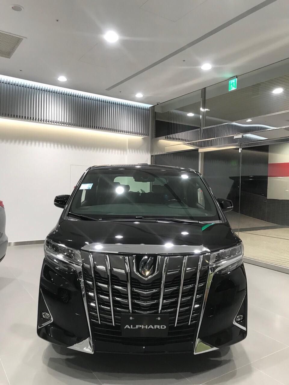 Bán Toyota Alphard Executive Lounge 3.5L, sản xuất năm 2019, xe nhập khẩu nguyên chiếc mới 100%. Xe giao ngay