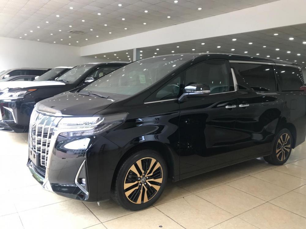 Bán Toyota Alphard Excutive Lounge 2019, màu đen, nhập khẩu nguyên chiếc