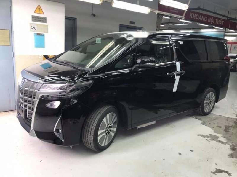 Bán xe Toyota Alphard sản xuất năm 2019, màu đen, xe nhập