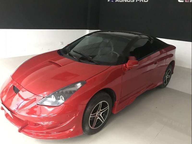 Bán xe Toyota Celica 2002, màu đỏ, 4 mâm vỏ độ theo xe