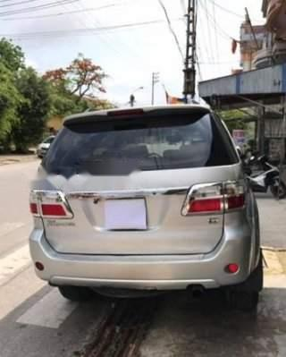 Bán nhanh Toyota Fortuner đời 2011, màu bạc số sàn, giá chỉ 600 triệu