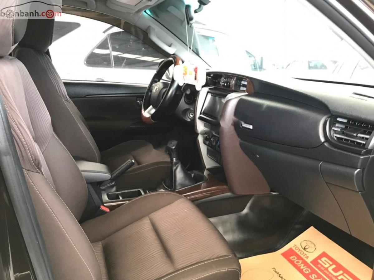 Bán Toyota Fortuner G sản xuất 2017, màu nâu, nhập khẩu nguyên chiếc, giá 970tr