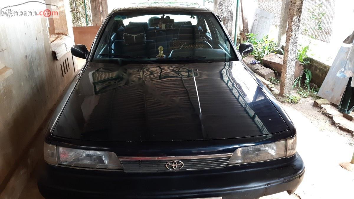 Bán Toyota Camry sản xuất 1990, màu xanh lam, nhập khẩu nguyên chiếc