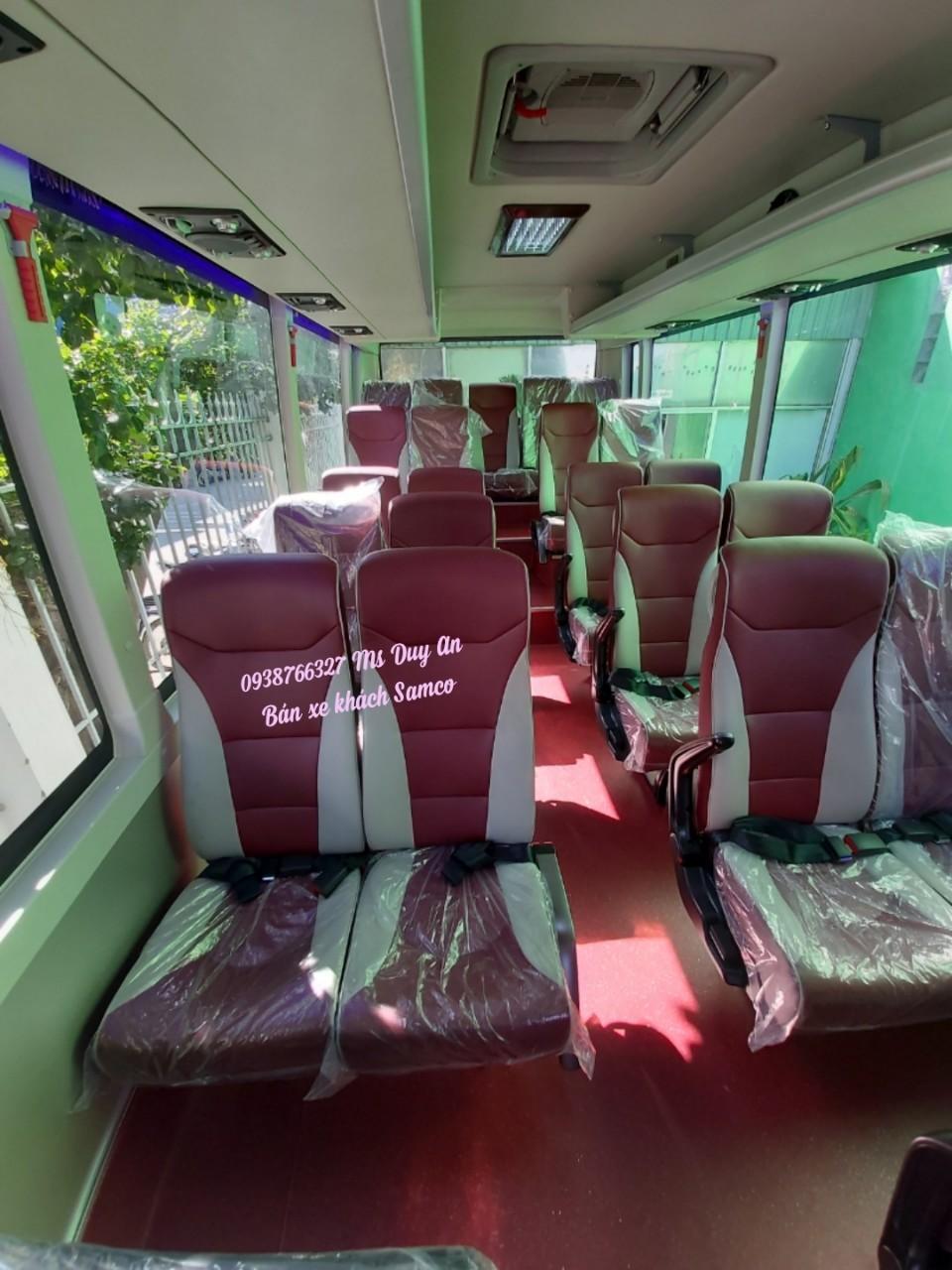 Bán xe khách Samco 29 chỗ ngồi động cơ Isuzu 5.2cc