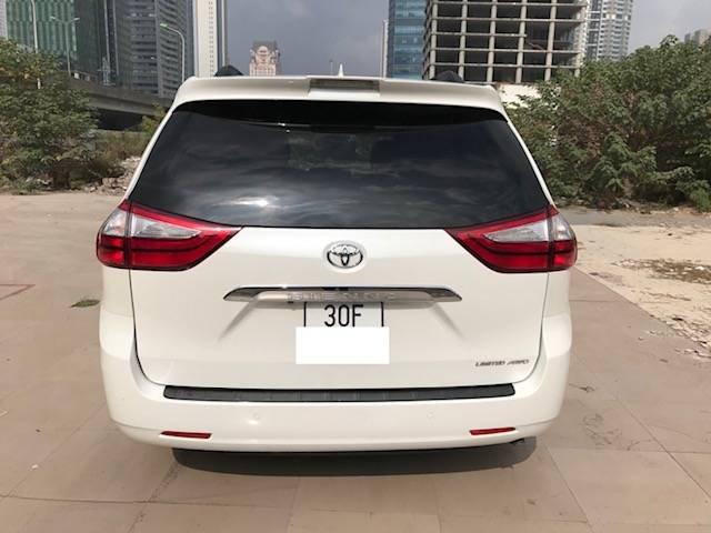 Bán Toyota Alphard Limited sản xuất 2018, màu trắng, nhập khẩu