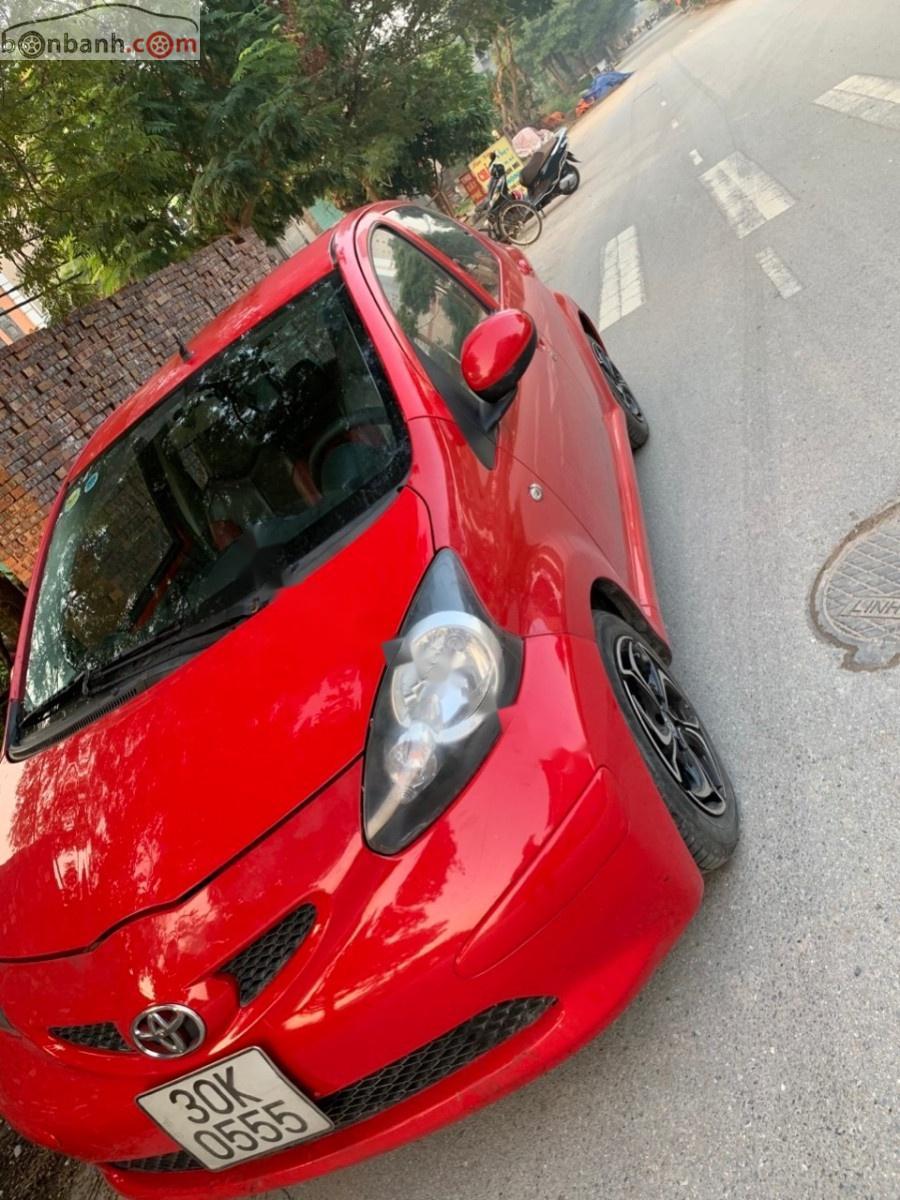 Cần bán xe Toyota Aygo 2007, màu đỏ, nhập khẩu nguyên chiếc số tự động giá cạnh tranh