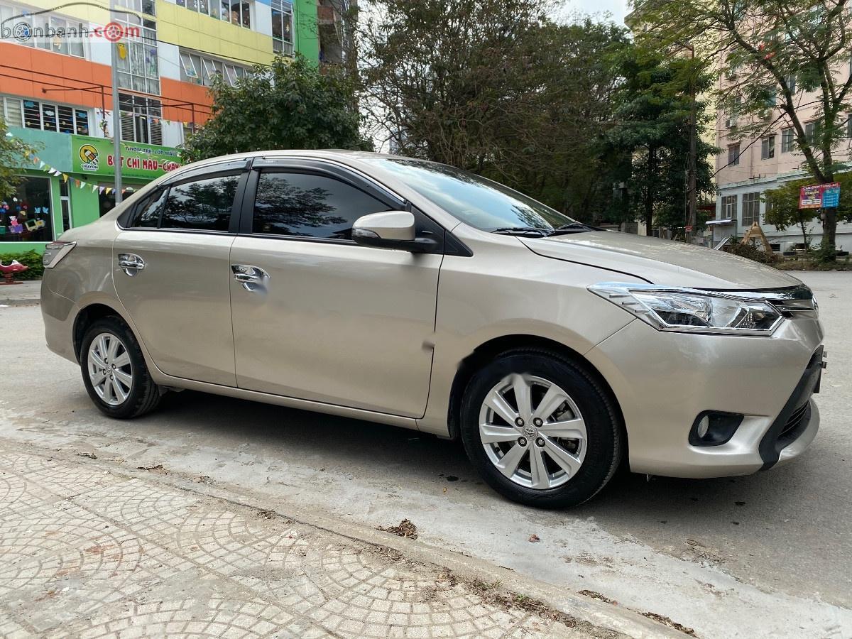 Xe Toyota Vios 2018, màu vàng còn mới, giá chỉ 510 triệu