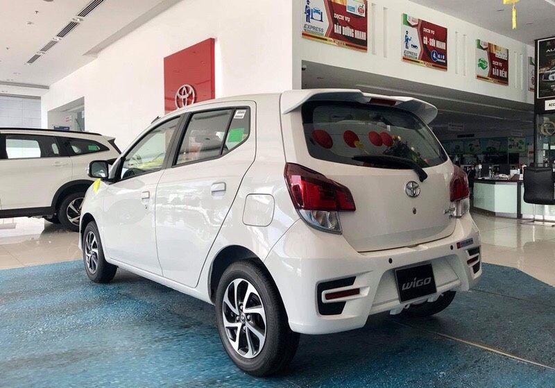 Toyota Wigo trả góp lãi suất 3.9% với 4,3 triệu/tháng, đăng ký Grab/Be miễn phí