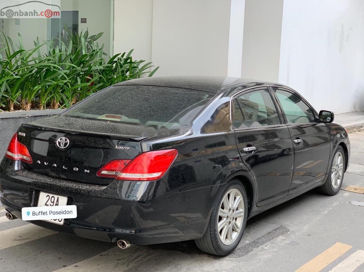Xe Toyota Avalon sản xuất 2007, màu đen, nhập khẩu nguyên chiếc
