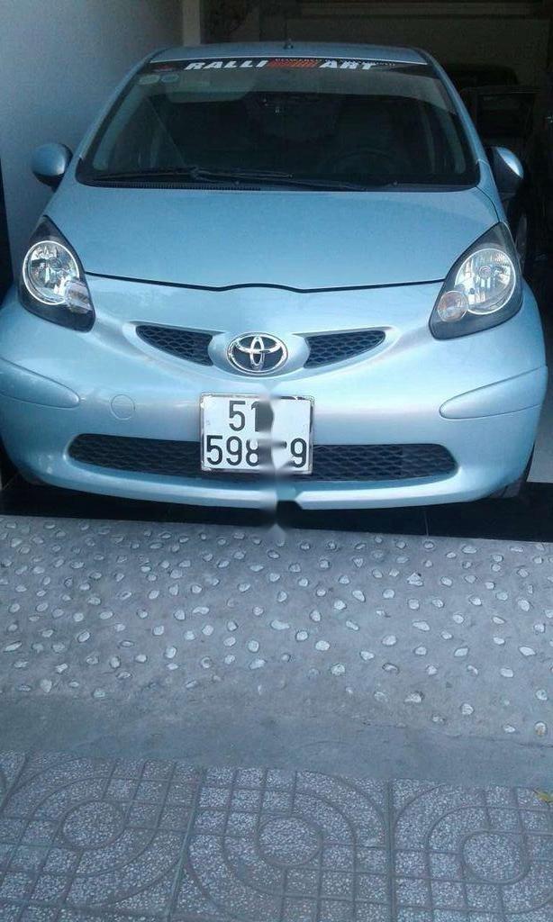 Bán ô tô Toyota Aygo AT đời 2006, màu xanh, xe nhập, giá chỉ 230 triệu