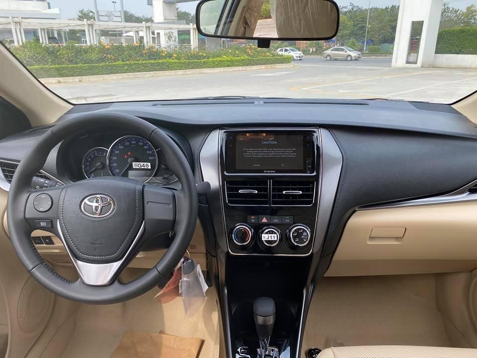 Toyota Hùng Vương Vios 1.5E CVT đời 2021, đủ màu, trả trước 106 triệu