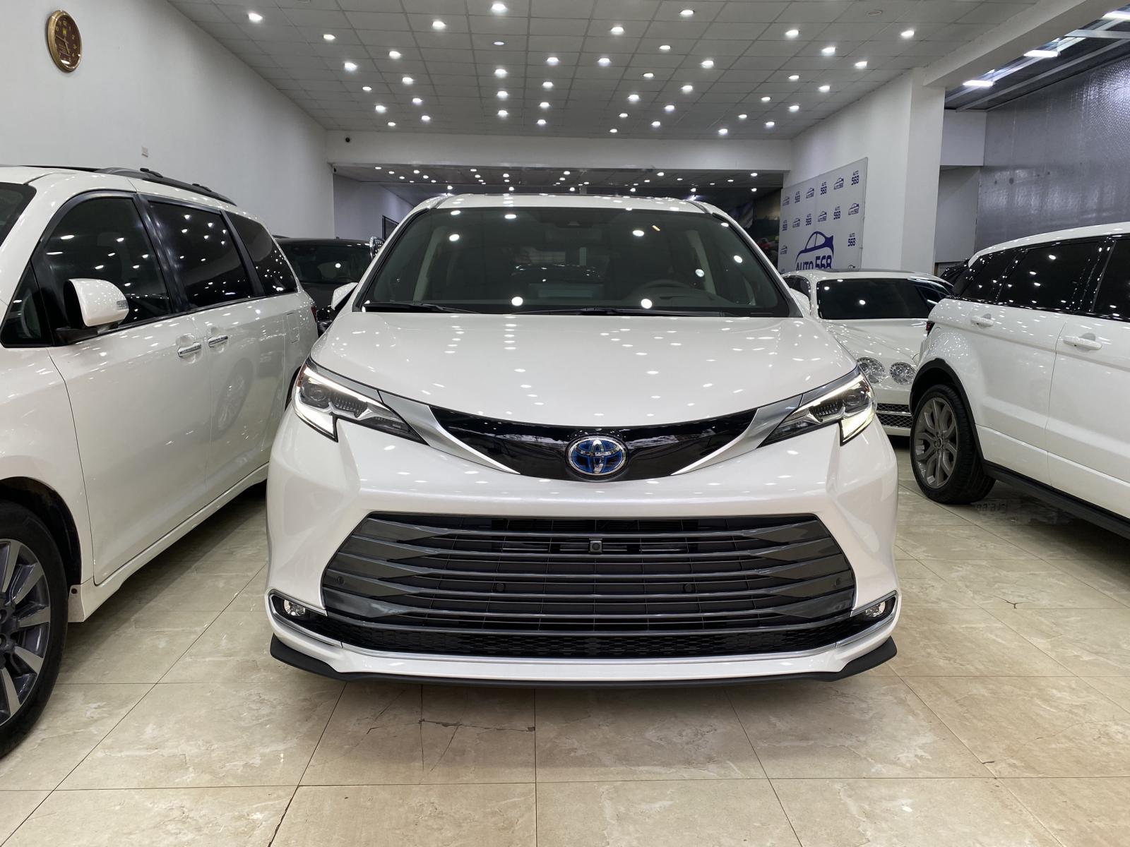 Giá Tốt Toyota Sienna Platinum đời 2021, màu trắng, xe nhập Mỹ full option