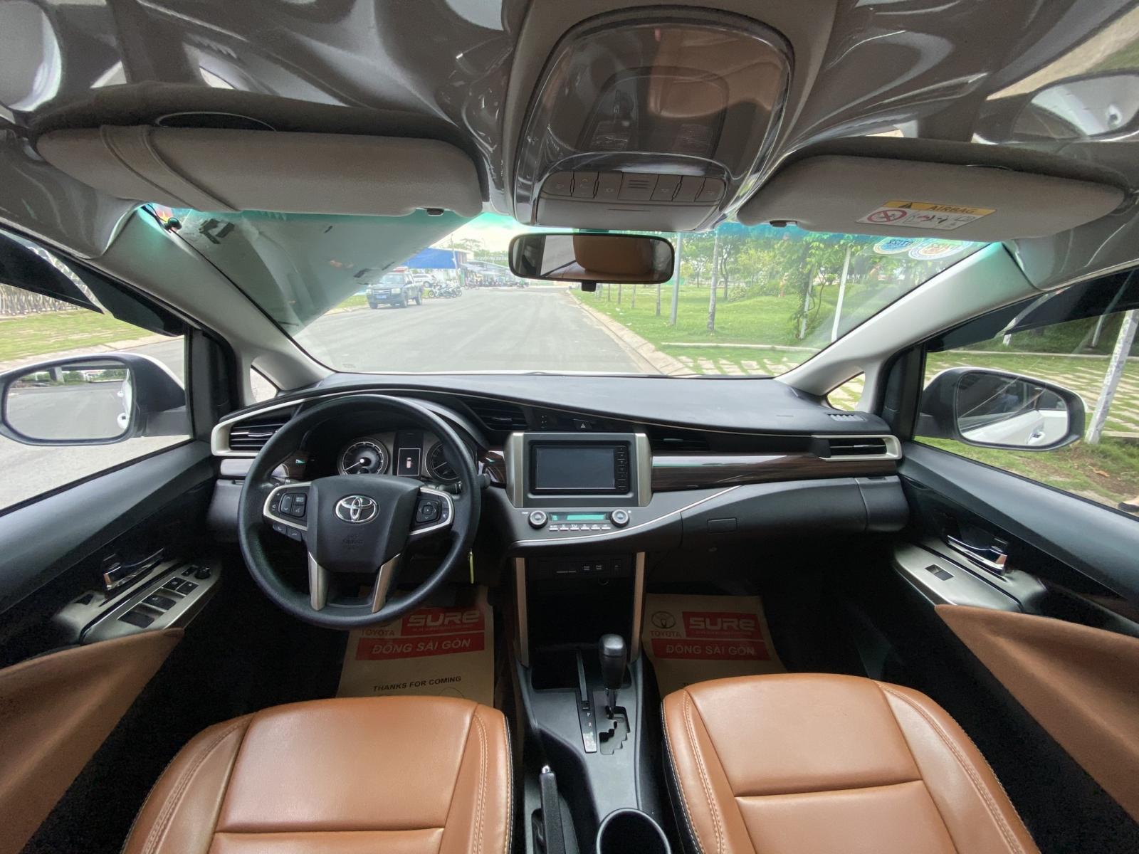 Bán xe Toyota Innova G đời 2018, màu trắng, số tự động