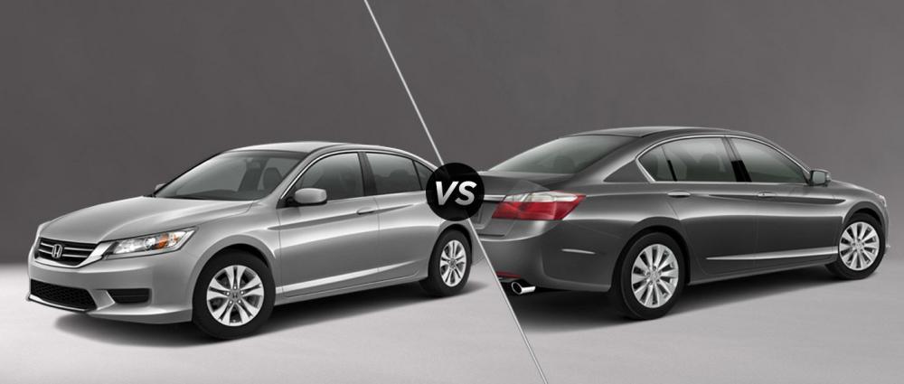 So sánh Honda Accord LX và Honda Accord EX