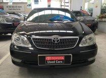 Cần bán xe Toyota Camry 3.0V đời 2004, màu đen giá cạnh tranh giá 500 triệu tại Tp.HCM