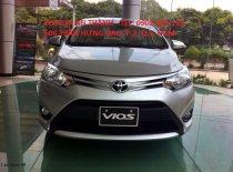 Cần bán xe Toyota Vios E MT đời 2017, màu bạc giá 535 triệu tại Tp.HCM