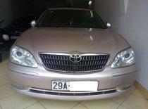 Cần bán Toyota Camry 3.0 V6 2005, màu ghi vàng, biển Hà Nội, rất mới giá 495 triệu tại Hà Nội
