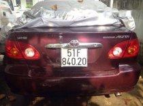 Bán Toyota Corolla altis 1.8G đời 2001, màu đỏ, giá tốt giá 290 triệu tại Tp.HCM