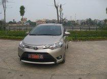 Bán ô tô Toyota Vios E sản xuất năm 2015, màu vàng cát giá 495 triệu tại Thái Nguyên