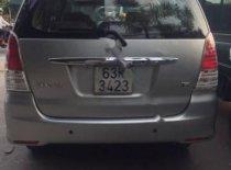 Chính chủ bán Toyota Innova G năm 2009, màu bạc giá 402 triệu tại Vĩnh Long