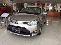 Nghệ An bán xe Toyota Vios 2018 giá rẻ, màu vàng cát, trả góp chỉ từ 120tr giá 495 triệu tại Quảng Bình