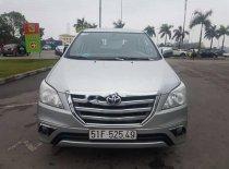 Bán Toyota Innova 2.0E đời 2015, màu bạc  giá 576 triệu tại Hải Dương