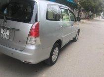 Cần bán Toyota Innova 2.0G đời 2011, màu bạc chính chủ giá 398 triệu tại Hà Nội