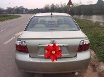 Bán ô tô Toyota Vios đời 2005, màu vàng cát giá 175 triệu tại Vĩnh Phúc