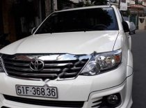 Chính chủ bán Toyota Fortuner TRD Sportivo 4x2 AT năm 2015, màu trắng giá 856 triệu tại Tp.HCM