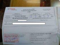 Cần bán Fortuner sx 2016 bản V, máy xăng, số tự động giá 920 triệu tại Hà Nội