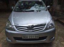 Gia đình bán Toyota Innova G 2009, màu bạc   giá 380 triệu tại Thanh Hóa