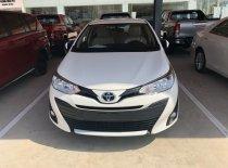 Toyota Vios 1.5E AT 2019, màu trắng giá cạnh tranh giá 569 triệu tại Tp.HCM