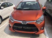 Xe Toyota Wigo 1.2AT màu cam đời 2019, nhập khẩu chính hãng giá 405 triệu tại Tp.HCM