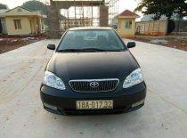 Bán xe cũ Toyota Corolla altis đời 2003, màu đen giá 183 triệu tại Hòa Bình