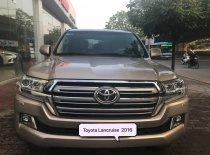 Bán Toyota Land Cruise 4.6, sản xuất và đăng ký cuối 2016, màu vàng, nội thất kem, xe siêu mới, biển Hà Nội giá 3 tỷ 760 tr tại Hà Nội