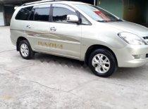 Cần bán gấp Toyota Innova sản xuất 2007, màu ghi vàng  giá 360 triệu tại Trà Vinh