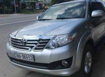 Cần bán lại xe Toyota Fortuner 2.7V 4x2 AT đời 2014, màu bạc, nhập khẩu nguyên chiếc  giá 750 triệu tại Hà Tĩnh