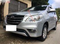 Cần bán lại xe Toyota Innova 2.0E đời 2013, màu bạc, 499 triệu giá 499 triệu tại Ninh Bình