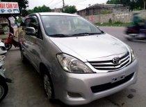 Cần bán Toyota Innova MT 2011, màu bạc  giá 450 triệu tại Hải Phòng