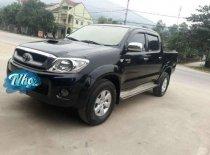 Bán Toyota Hilux 3.0 đời 2010, màu đen, nhập khẩu Thái Lan giá 395 triệu tại Hà Nội