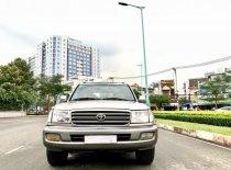 Land Cruiser ĐK 2004 hai cầu, số sàn, màu bạc, xe vào đủ đồ chơi, nệm da bò giá 395 triệu tại Tp.HCM
