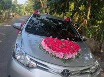 Cần bán Toyota Vios 1.3 đời 2015, màu bạc số sàn giá 420 triệu tại Cần Thơ