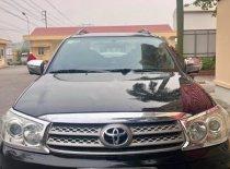 Cần bán xe Toyota Fortuner 2.7V 4x4 AT năm 2009, màu đen giá 485 triệu tại Bắc Ninh