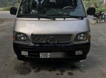 Bán Toyota Hiace 2.4 sản xuất 2003, màu bạc chính chủ, giá tốt giá 130 triệu tại Hà Nội