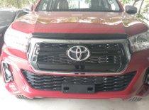 Bán ô tô Toyota Hilux 2.4 AT sản xuất năm 2019, màu đỏ  giá 695 triệu tại Hà Nội